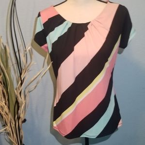 Multi-Colored Worthington Blouse for Women